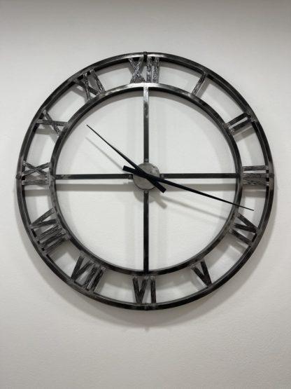 Kované nástěnné hodiny (95cm)